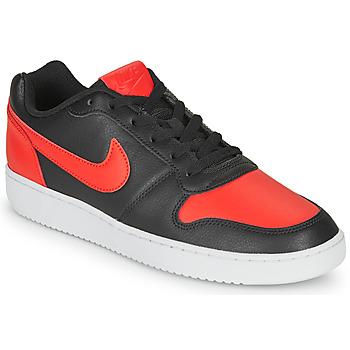 Čevlji  Moški Nizke superge Nike EBERNON LOW Črna / Rdeča
