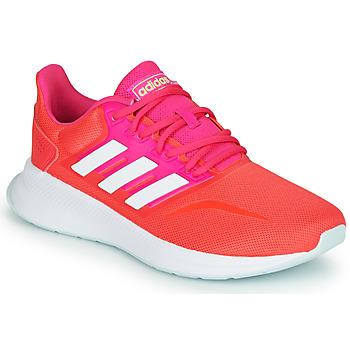 Čevlji  Ženske Nizke superge adidas Performance RUNFALCON Rdeča / Rožnata
