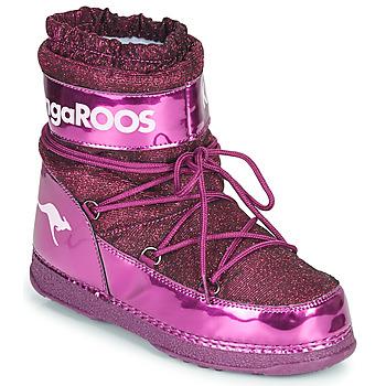 Čevlji  Ženske Polškornji Kangaroos K-MOON Vijolična