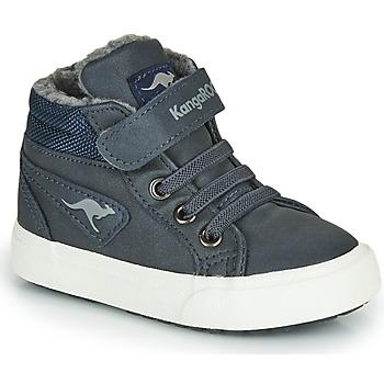 Čevlji  Dečki Visoke superge Kangaroos KAVU I Modra