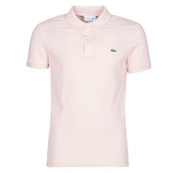 Oblačila Moški Polo majice kratki rokavi Lacoste PH4012 SLIM Rožnata