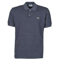 Oblačila Moški Polo majice kratki rokavi Lacoste POLO L12 12 CLASSIQUE Modra