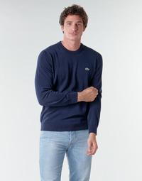 Oblačila Moški Puloverji Lacoste AH1985 Modra