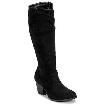 Čevlji  Ženske Mestni škornji    Moony Mood NOEMA Črna