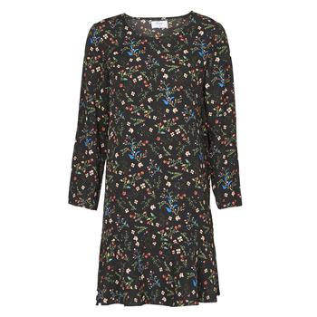 Oblačila Ženske Kratke obleke Betty London NELLY Črna / Večbarvna