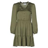 Oblačila Ženske Kratke obleke Betty London NULIE Kaki
