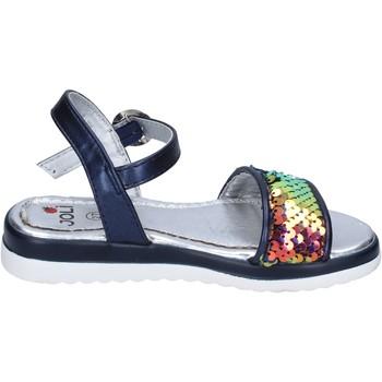 Čevlji  Deklice Sandali & Odprti čevlji Joli BM757 Modra