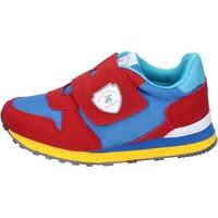 Čevlji  Dečki Modne superge Beverly Hills Polo Club sneakers camoscio sintetico tessuto Rosso