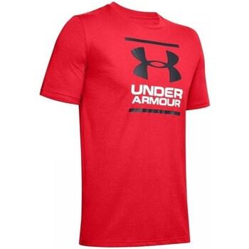 Oblačila Moški Majice s kratkimi rokavi Under Armour GL Foundation SS T Rdeča