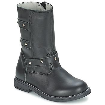 Čevlji  Deklice Mestni škornji    Citrouille et Compagnie ELZA Črna