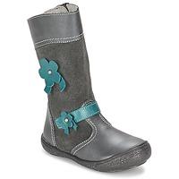 Čevlji  Deklice Mestni škornji    Citrouille et Compagnie RINDAR Siva