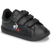 Čevlji  Otroci Nizke superge Le Coq Sportif COURTSET INF Črna