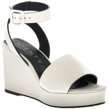 Čevlji  Ženske Sandali & Odprti čevlji Vienty HIELO NOX Bianco