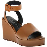 Čevlji  Ženske Sandali & Odprti čevlji Vienty CUERO NOX Marrone