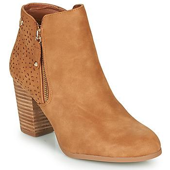 Čevlji  Ženske Gležnjarji Xti  Cognac