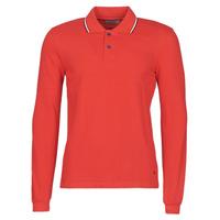 Oblačila Moški Polo majice dolgi rokavi Casual Attitude NILE Rdeča