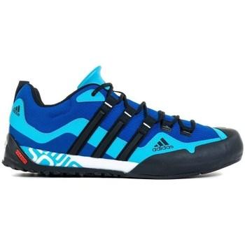 Čevlji  Moški Pohodništvo adidas Originals Terrex Swift Solo Črna, Modra, Mornarsko modra