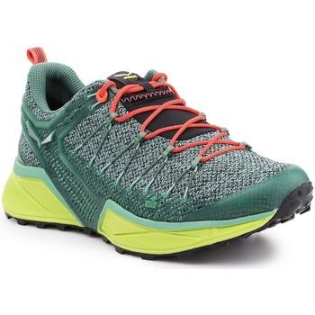 Čevlji  Ženske Tek & Trail Salewa Trekking shoes  Ws Dropline 61369-5585 green