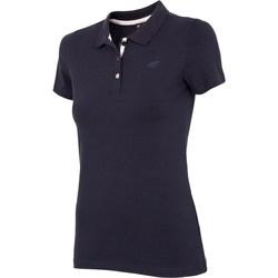 Oblačila Ženske Majice s kratkimi rokavi 4F NOSH4 TSD008 Granat Mornarsko modra