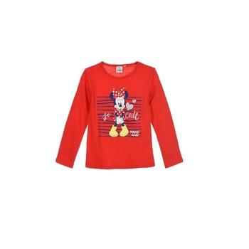 Oblačila Deklice Majice z dolgimi rokavi TEAM HEROES  MINNIE Rdeča