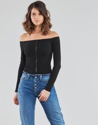 Oblačila Ženske Topi & Bluze Moony Mood NOAM Črna