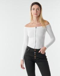 Oblačila Ženske Topi & Bluze Moony Mood NOAM Bela