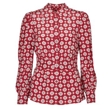 Oblačila Ženske Topi & Bluze MICHAEL Michael Kors LUX PINDOT MED TOP Bordo