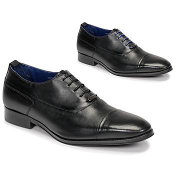 Čevlji  Moški Čevlji Richelieu Azzaro LITCHI Črna