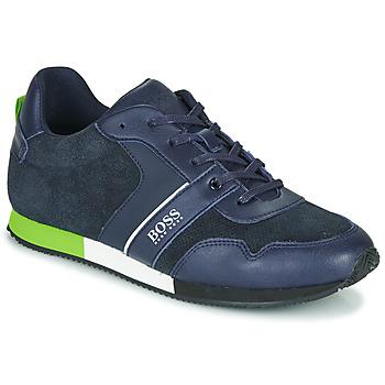 Čevlji  Dečki Nizke superge BOSS J29225 Modra