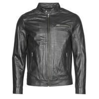 Oblačila Moški Usnjene jakne & Sintetične jakne Selected SLHC01 Črna