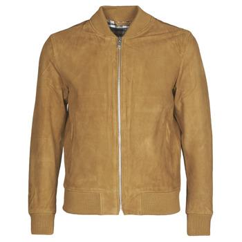 Oblačila Moški Usnjene jakne & Sintetične jakne Selected SLHBROKE Kostanjeva