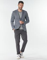 Oblačila Moški Hlače Chino / Carrot Selected SLHNEW PARIS Siva