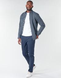 Oblačila Moški Hlače Chino / Carrot Selected SLHNEW PARIS Modra