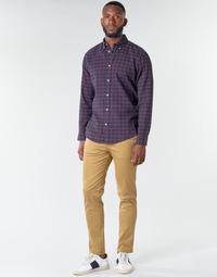 Oblačila Moški Hlače Chino / Carrot Selected SLHNEW PARIS Kamel