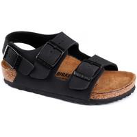 Čevlji  Otroci Sandali & Odprti čevlji Birkenstock Milano bf Črna