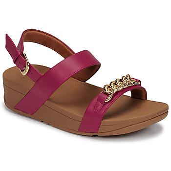Čevlji  Ženske Sandali & Odprti čevlji FitFlop LOTTIE CHAIN BACK-STRAP SANDALS Fuksija