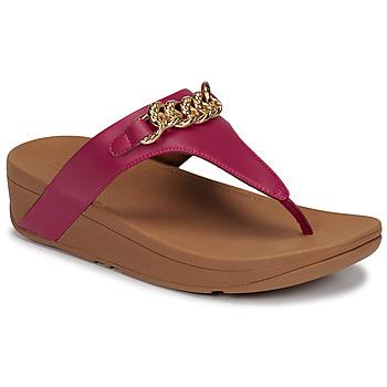 Čevlji  Ženske Sandali & Odprti čevlji FitFlop LOTTIE CHAIN TOE-THONGS Fuksija