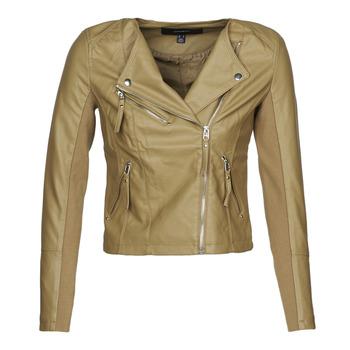Oblačila Ženske Usnjene jakne & Sintetične jakne Vero Moda VMRIAFAVO Bež