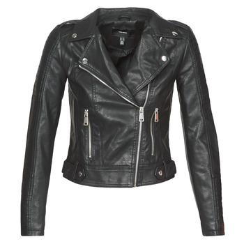 Oblačila Ženske Usnjene jakne & Sintetične jakne Vero Moda VMKERRIULTRA Črna