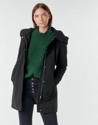Oblačila Ženske Plašči Vero Moda VMDAFNEDORA Črna