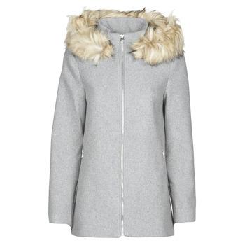 Oblačila Ženske Plašči Vero Moda VMCOLLARYORK Siva