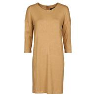 Oblačila Ženske Kratke obleke Vero Moda VMGLORY Kamel