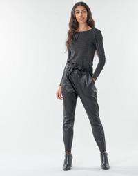 Oblačila Ženske Hlače Chino / Carrot Vero Moda VMEVA Črna