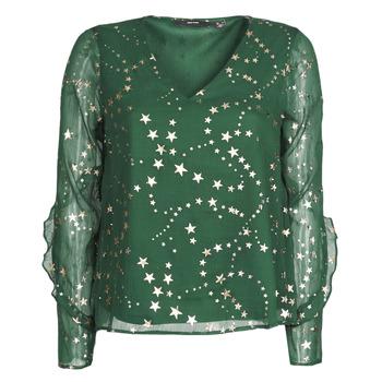 Oblačila Ženske Topi & Bluze Vero Moda VMFEANA Zelena