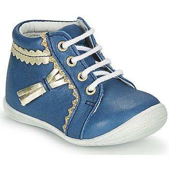 Čevlji  Deklice Visoke superge GBB ACINTA Modra