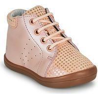 Čevlji  Deklice Visoke superge GBB NAHIA Rožnata