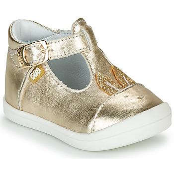 Čevlji  Deklice Balerinke GBB ANINA Pozlačena