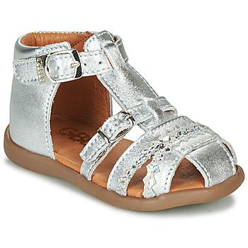 Čevlji  Deklice Sandali & Odprti čevlji GBB ALIDA Srebrna