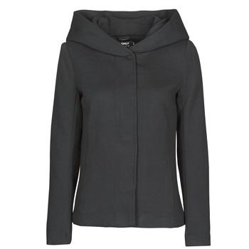 Oblačila Ženske Plašči Only ONLNEWSEDONA Črna
