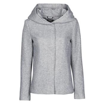 Oblačila Ženske Plašči Only ONLNEWSEDONA Siva